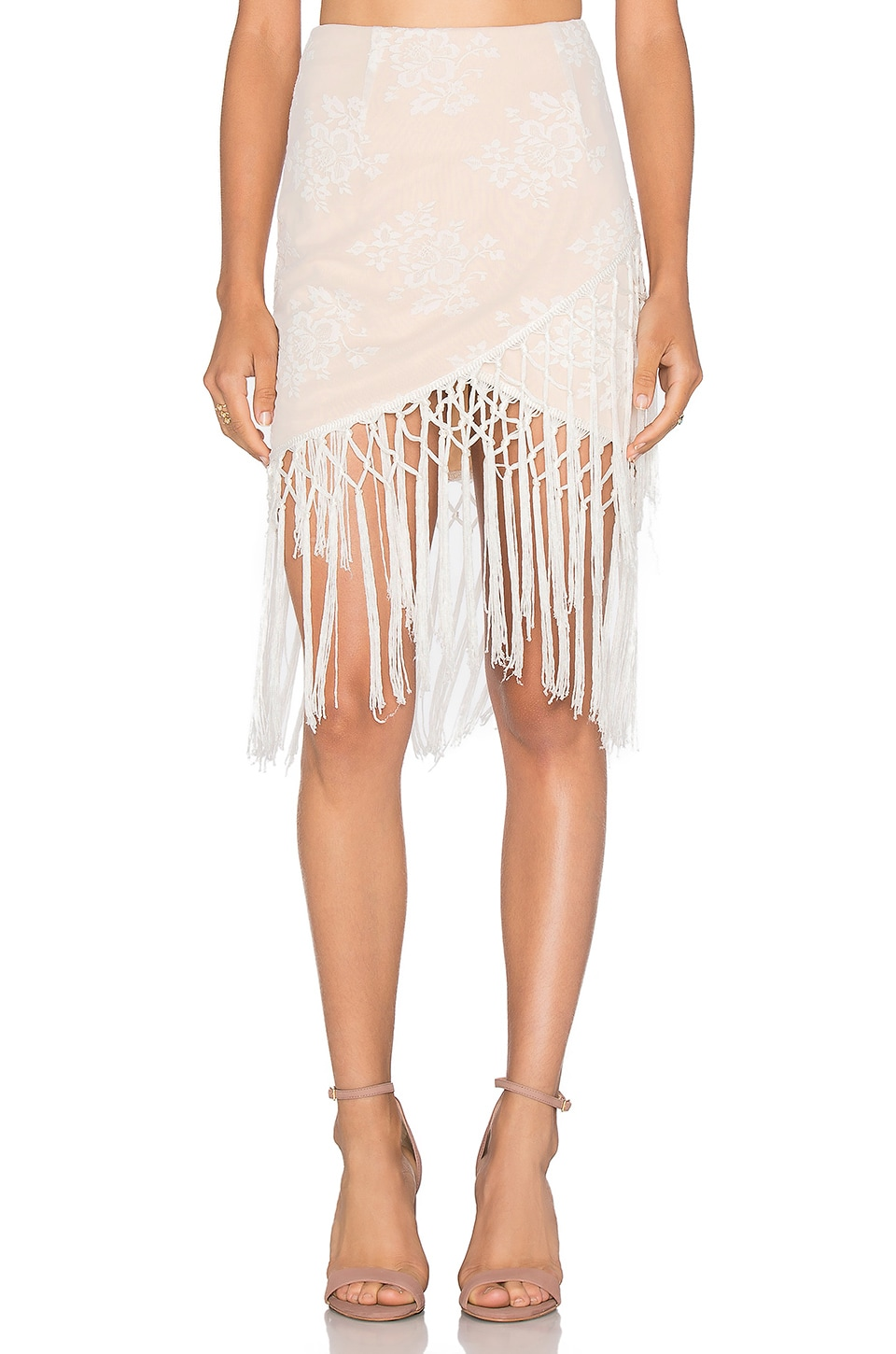 Filaree Fringe Skirt