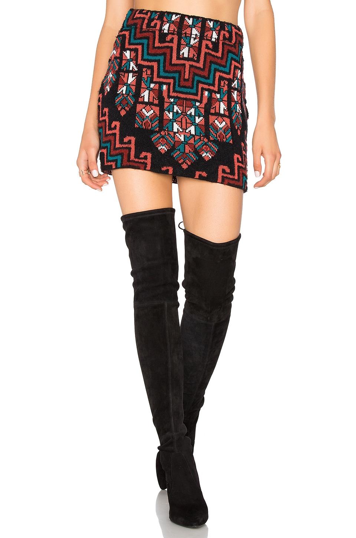 Bolnisi Rug Knit Mini Skirt