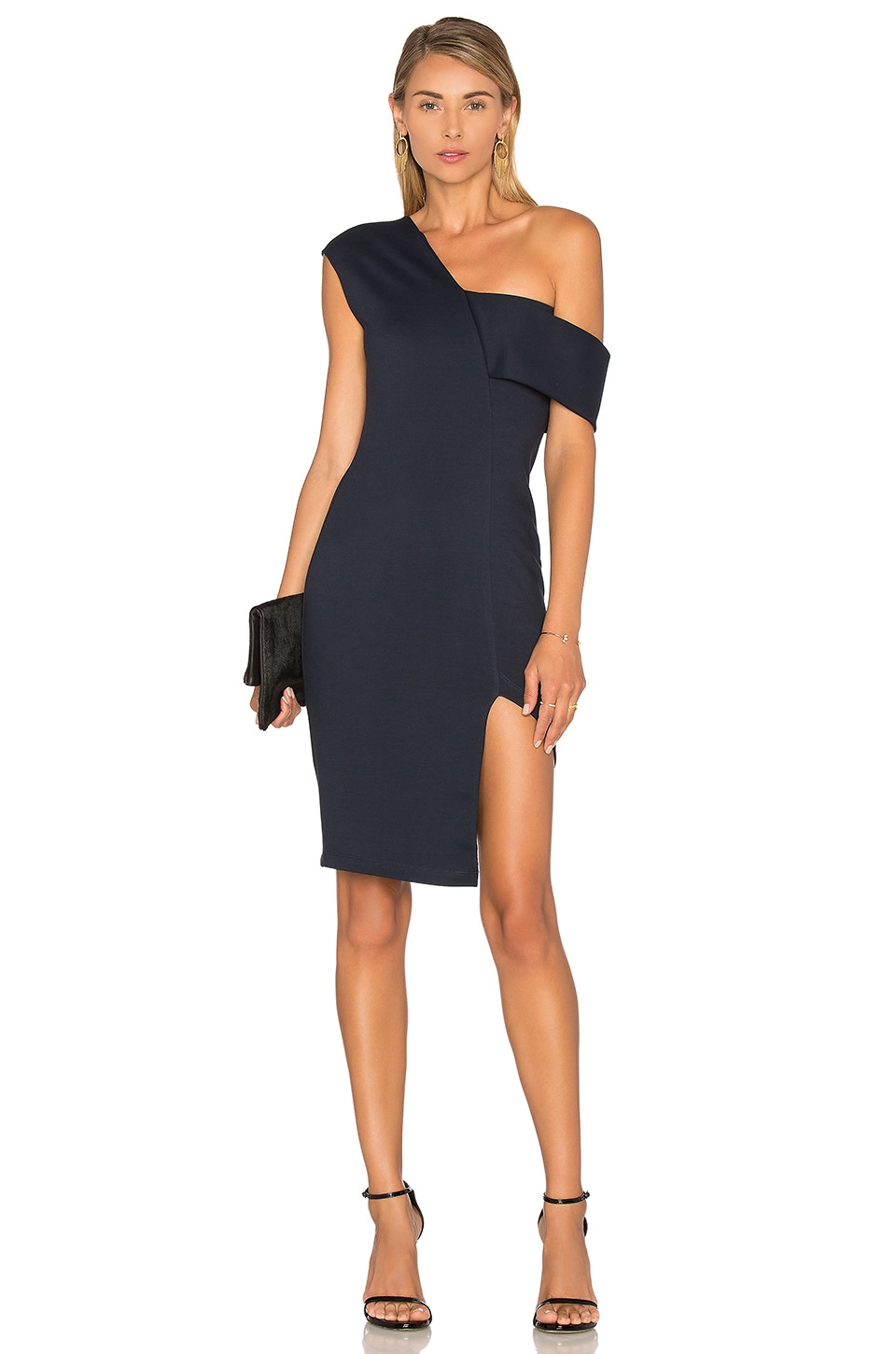 Asymmetrical Strap Dress