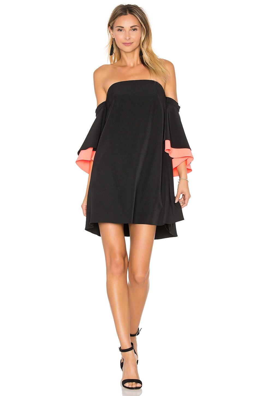 Mila Double Flutter Sleeve Dress