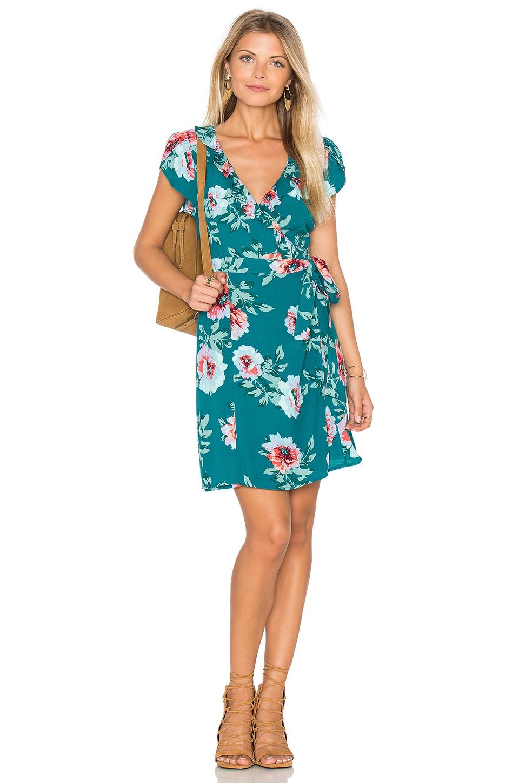 Pretty Primrose Wrap Dress