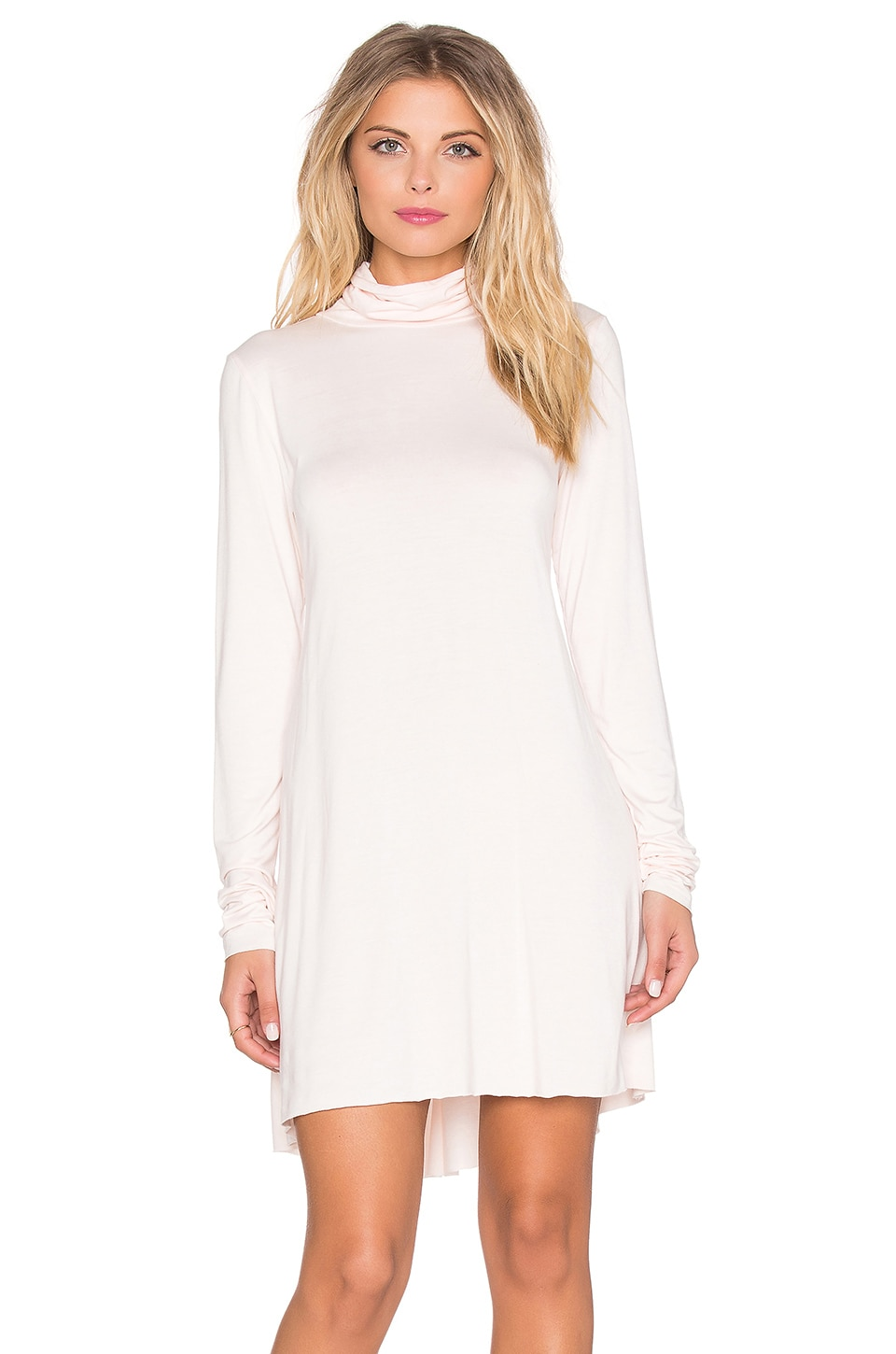 Leo Turtleneck Mini Dress