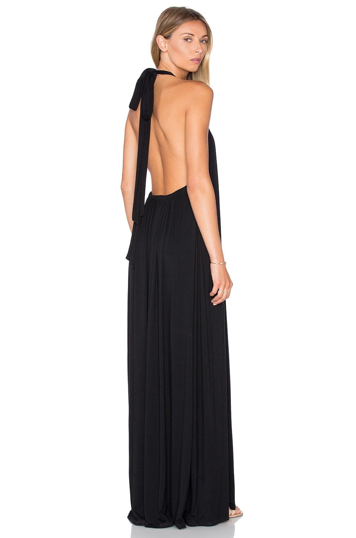 French Halter Maxi Dress