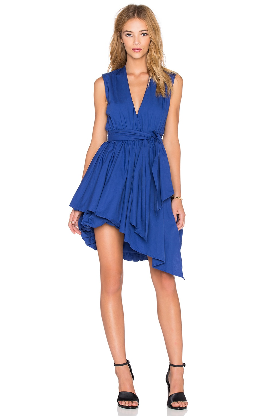 Wrap Billow Dress