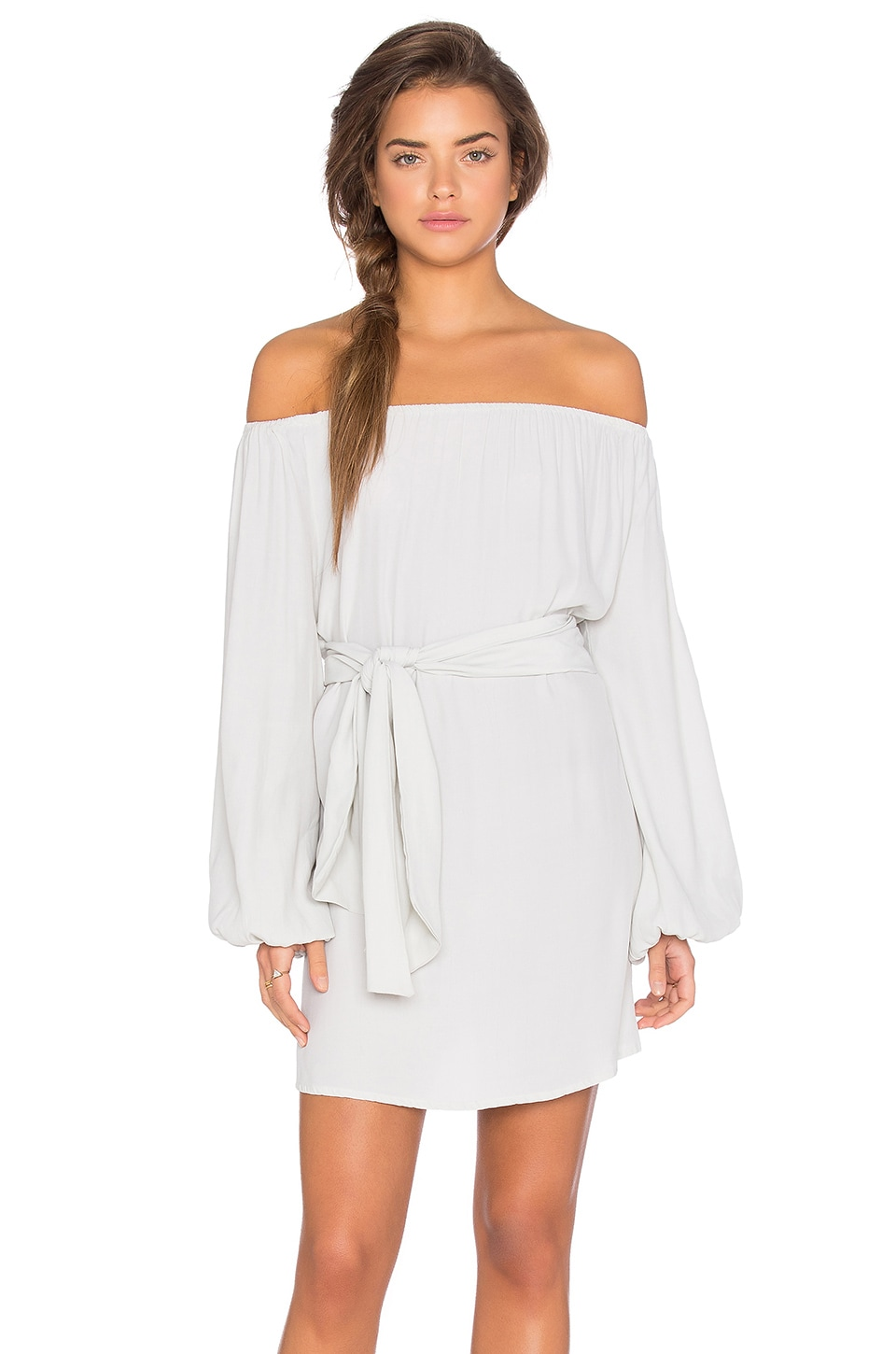 Dash Off Shoulder Tie Dress