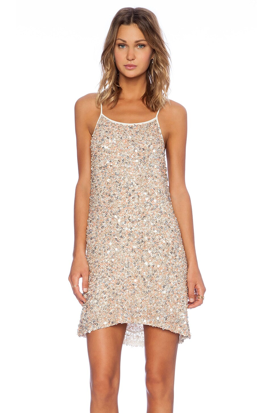 Gina Hoop Sequin Dress