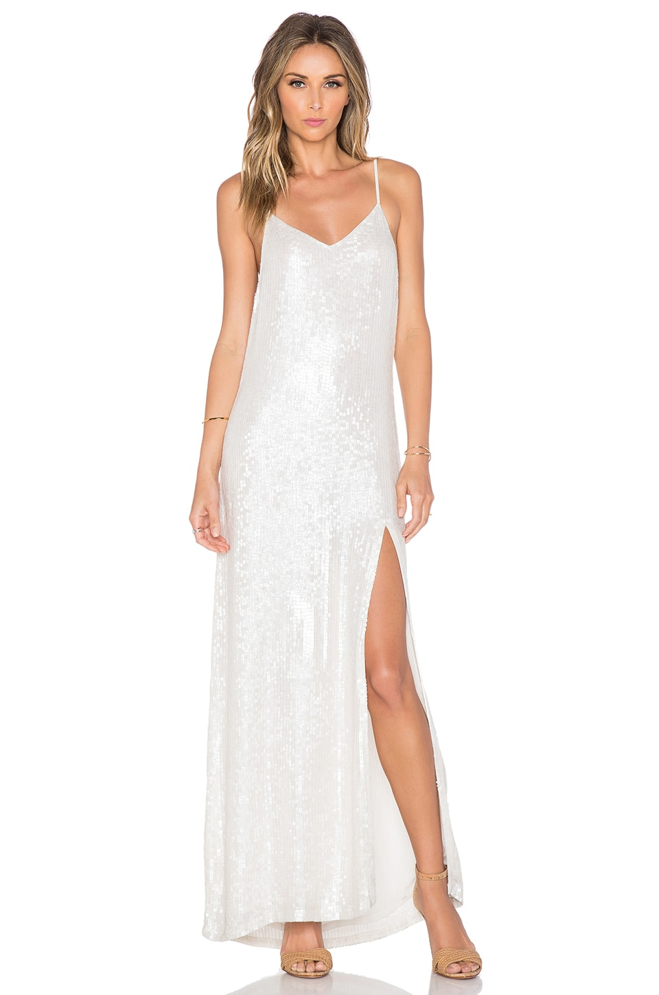 London Sequin Maxi Dress