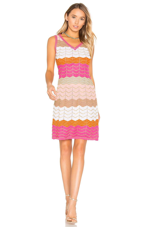 Sleeveless V Neck Mini Dress