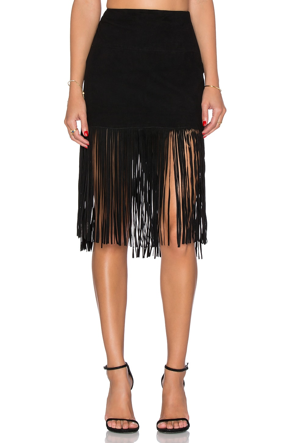 Milo Fringed Skirt