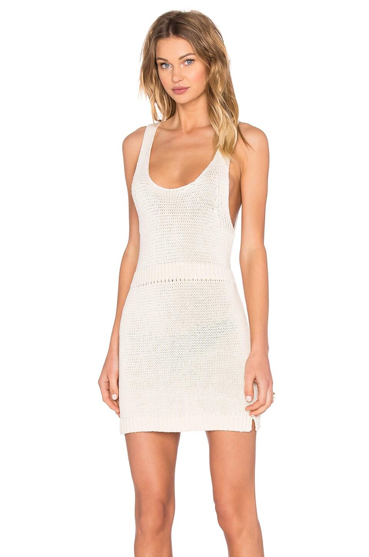 Paneled Sleeveless Knit Dress