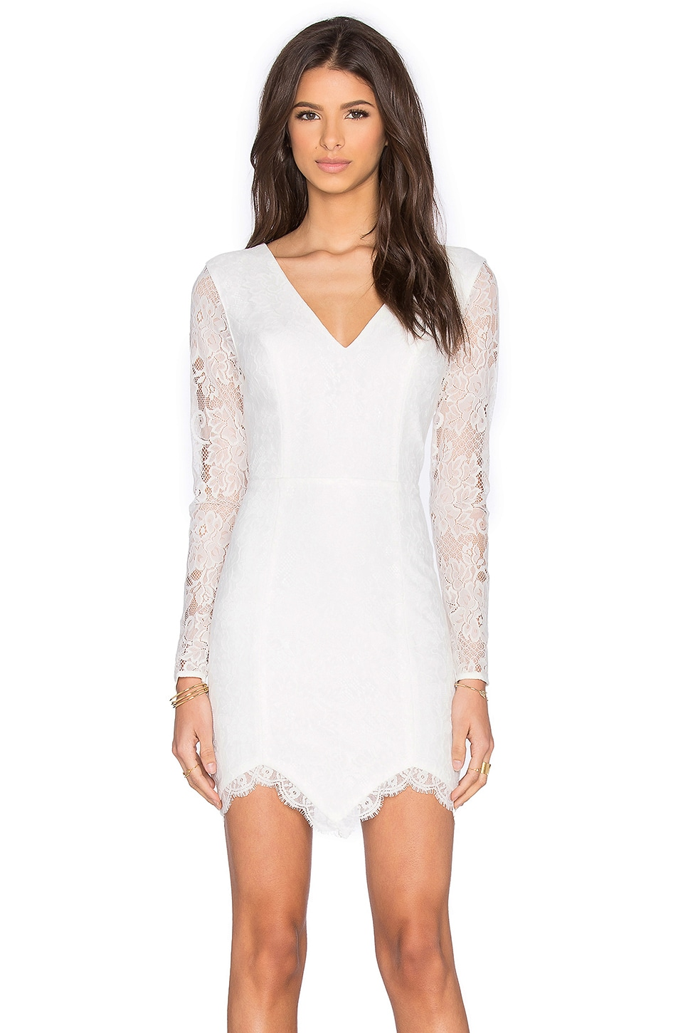 x REVOLVE Long Sleeve Look Back At It Dress