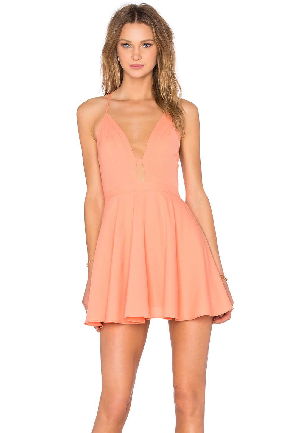 x Naven Twins Everytime Skater Dress