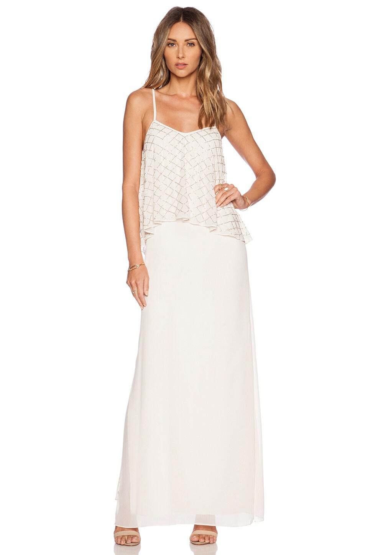 Tiered Geo Maxi Dress