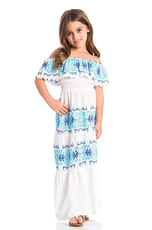 Greek Isle Maxi Dress