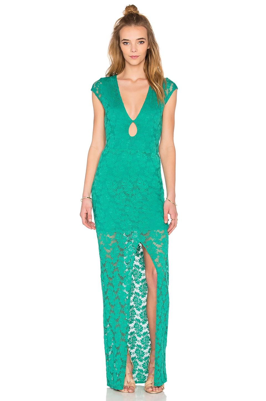 Teardrop Lace Maxi Dress
