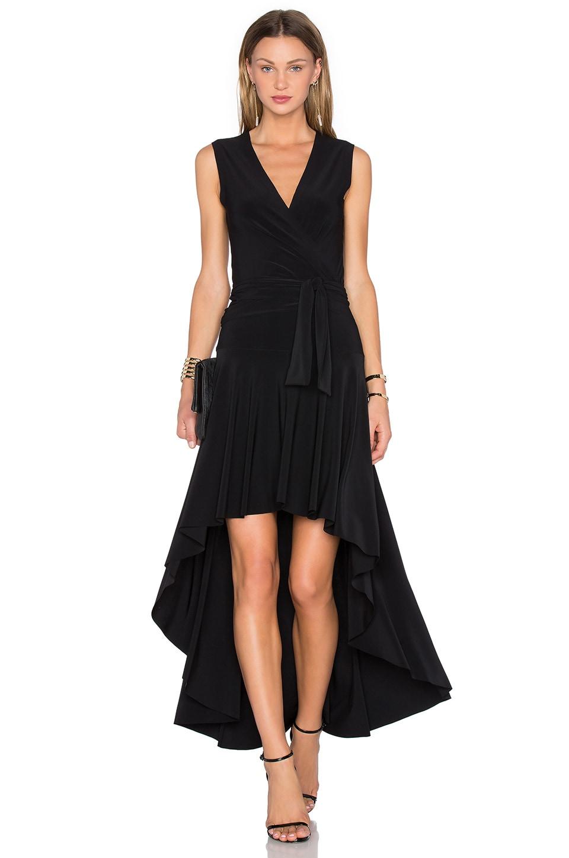Sleeveless Flared Wrap Dress