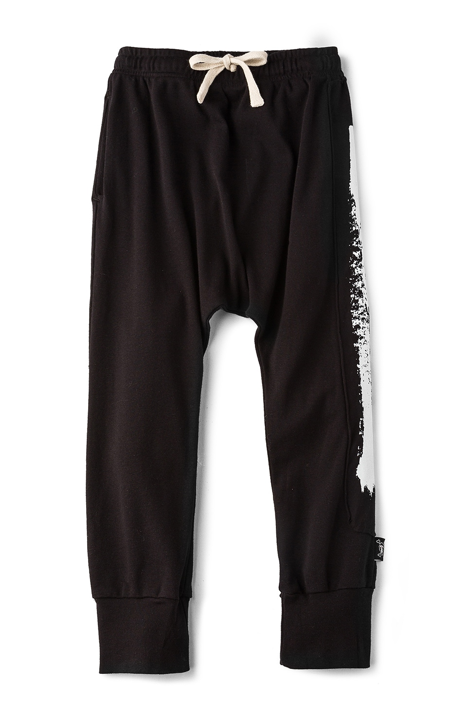 Brush Stroke Baggy Pants