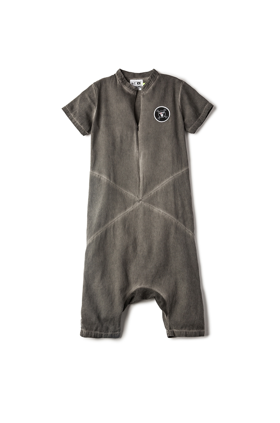 Divided Woven Overalls