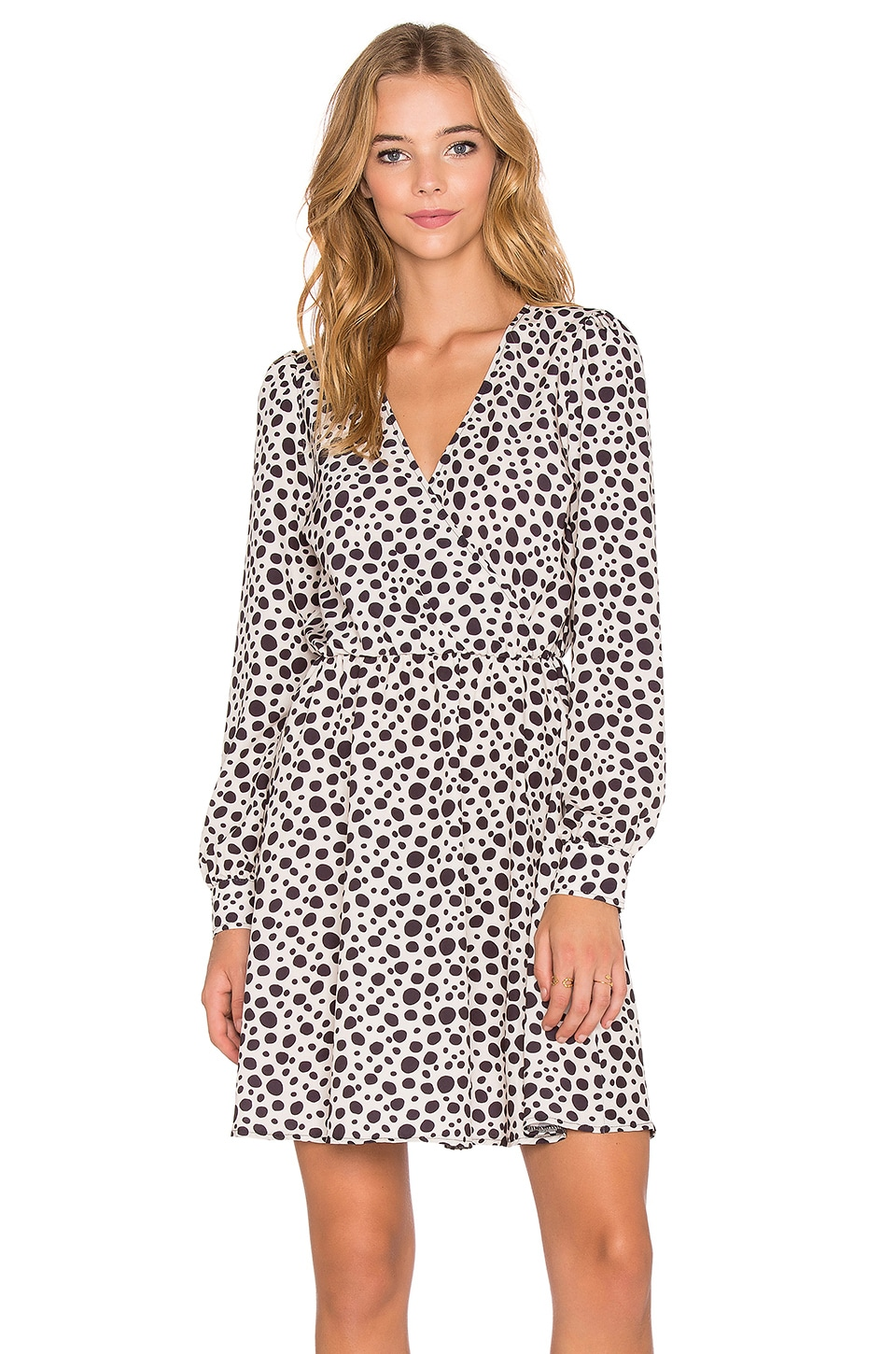 Fine Girl Leopard Wrap Dress