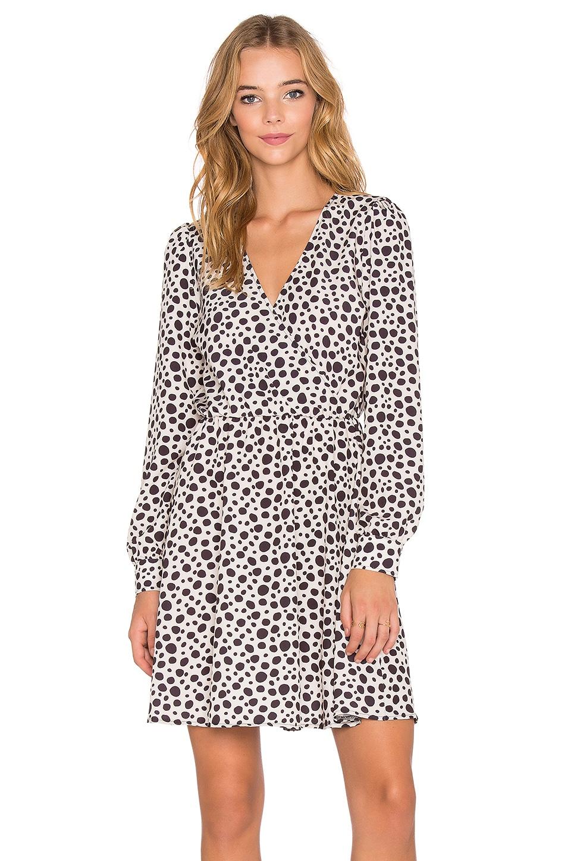 Fine Girl Leopard Wrap Dress