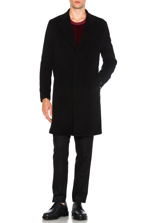 Unconstructed Classic Wool Coat