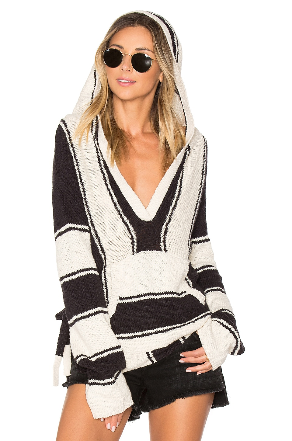 Striped Baja Sweater