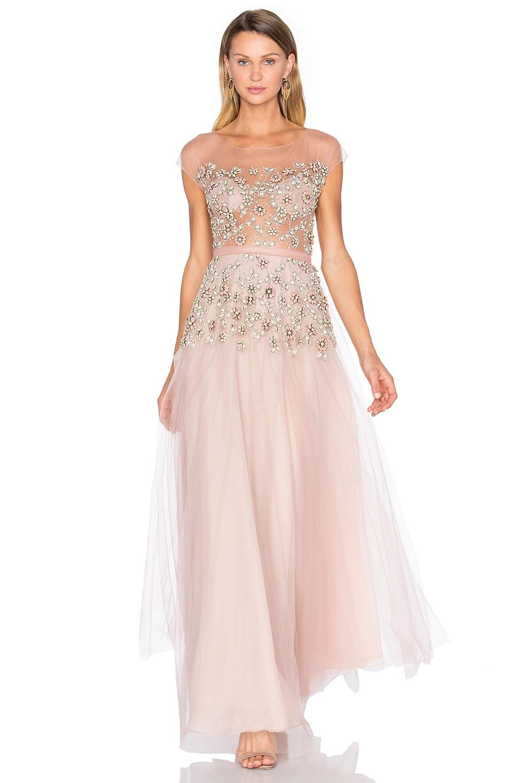 Floral Embellished Gown