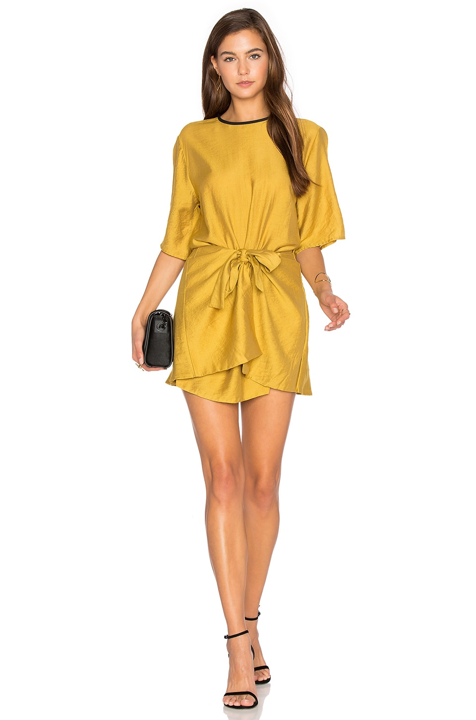 Abel Wrap Mini Dress