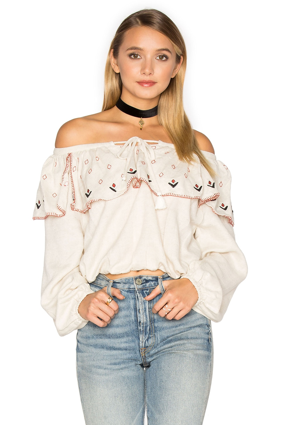Tibet Off Shoulder Top