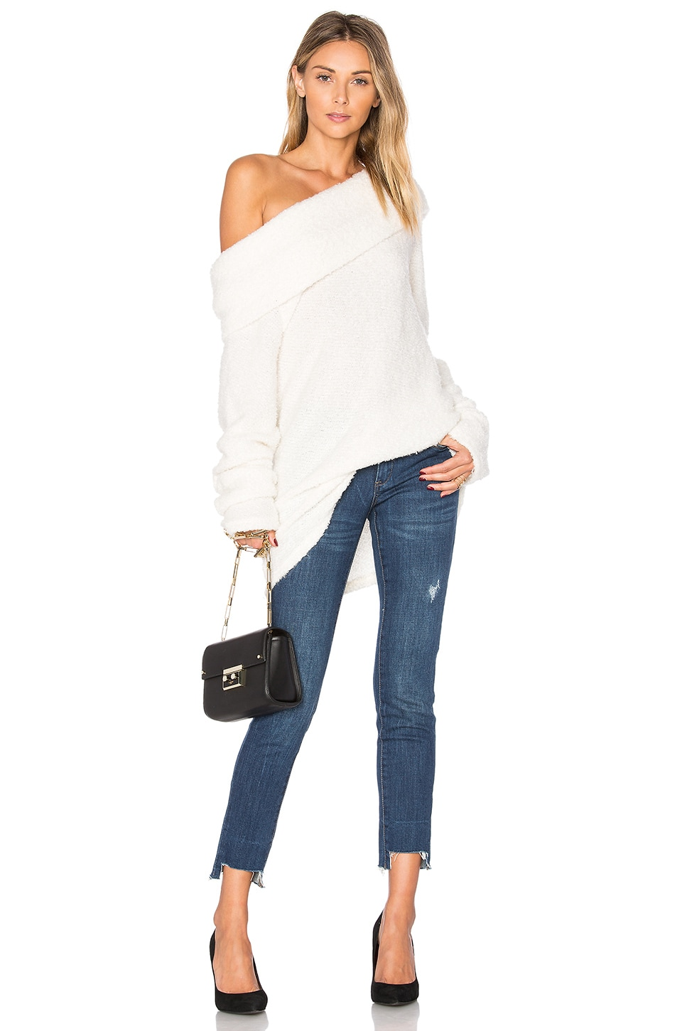 Monet Off Shoulder Sweater