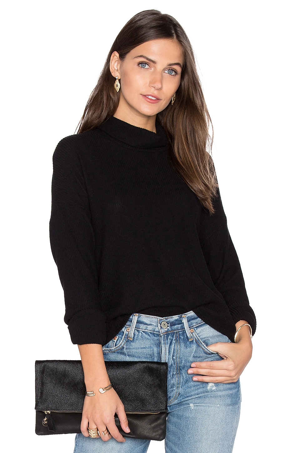 Mia Mock Neck Top