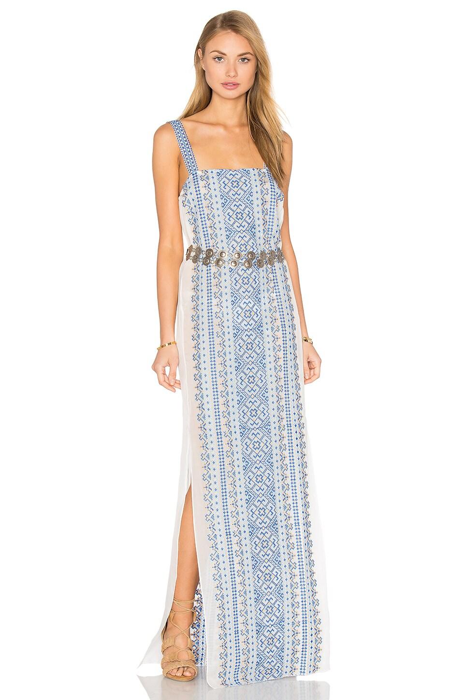 Yalta Silk Maxi Dress