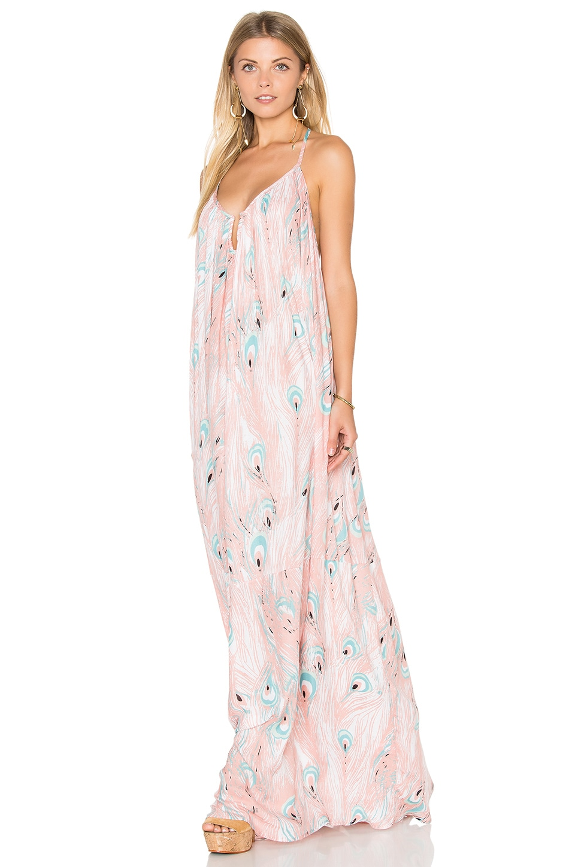 Crepe Mirage Maxi Dress