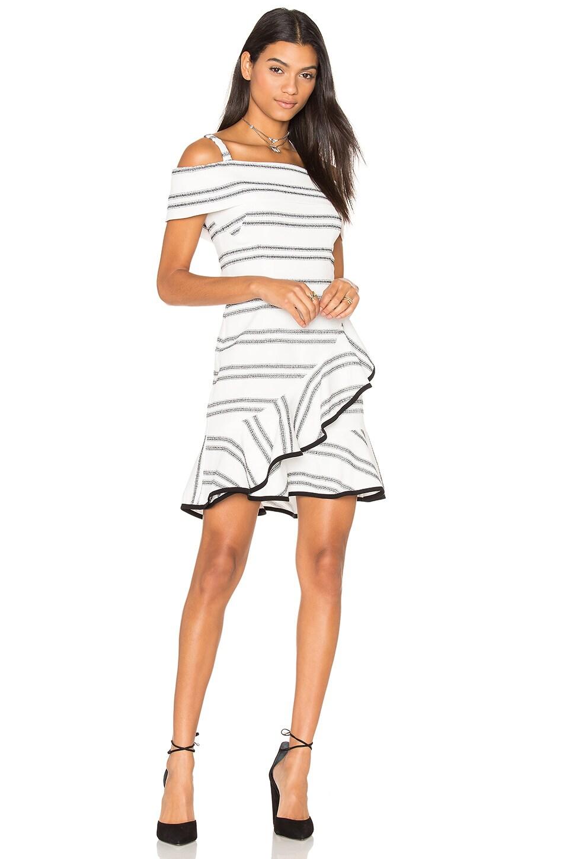 Jupiter Ruffle Mini Dress