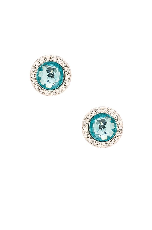 Crystal Halo Stud Earring
