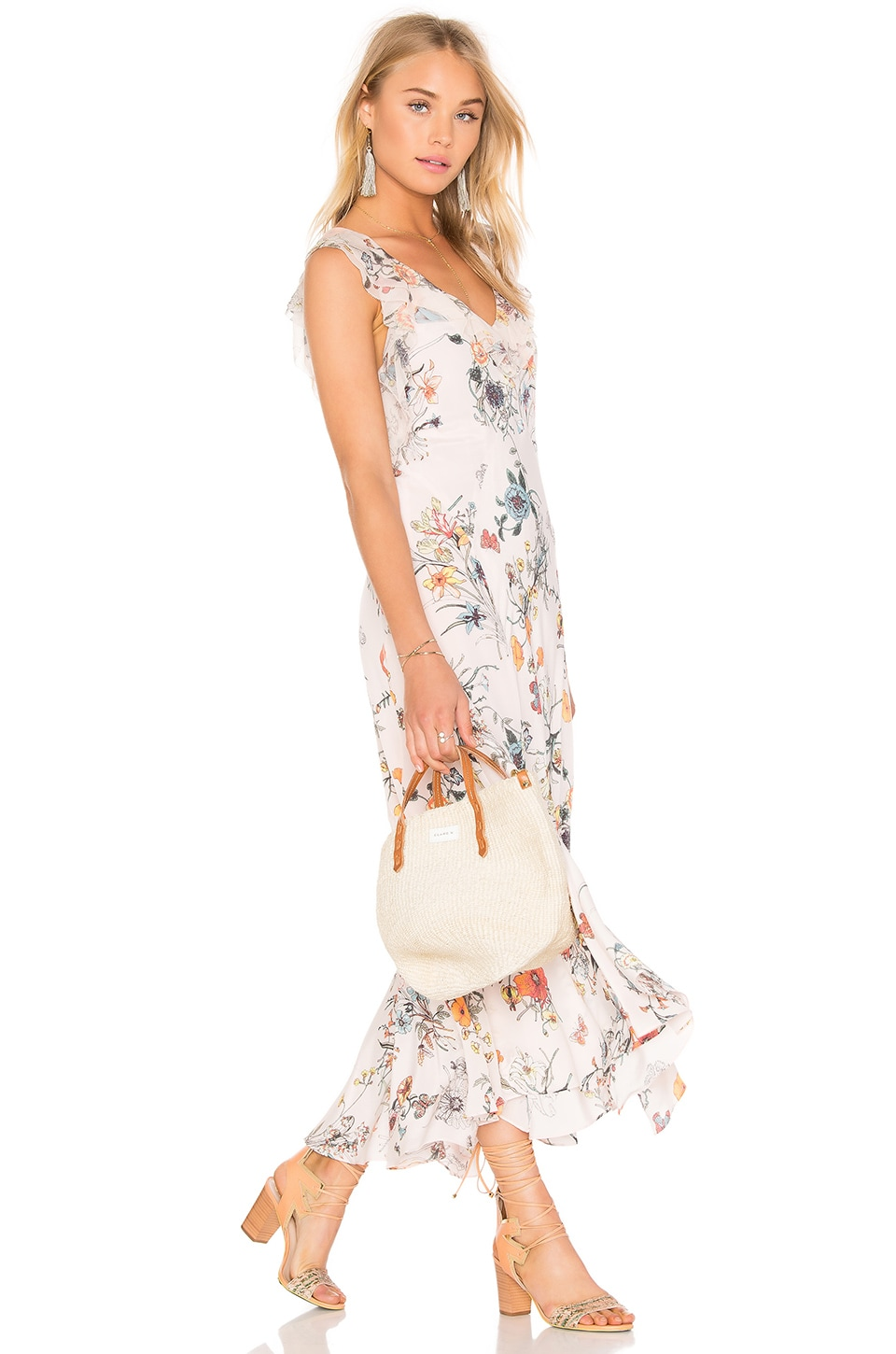 Meadow Ruffle Maxi Dress