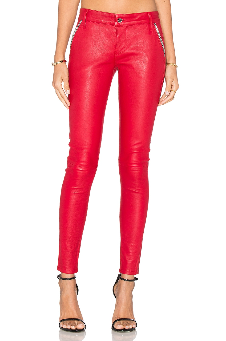 Lucy Leather Skinny