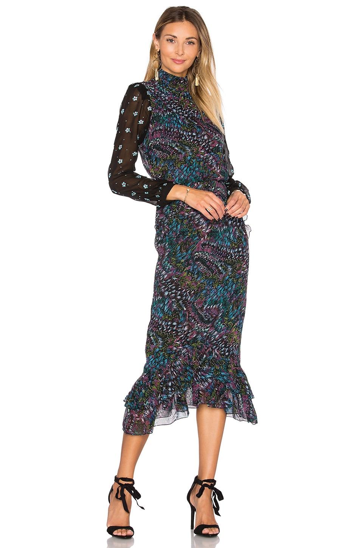 Isa Silk Dress