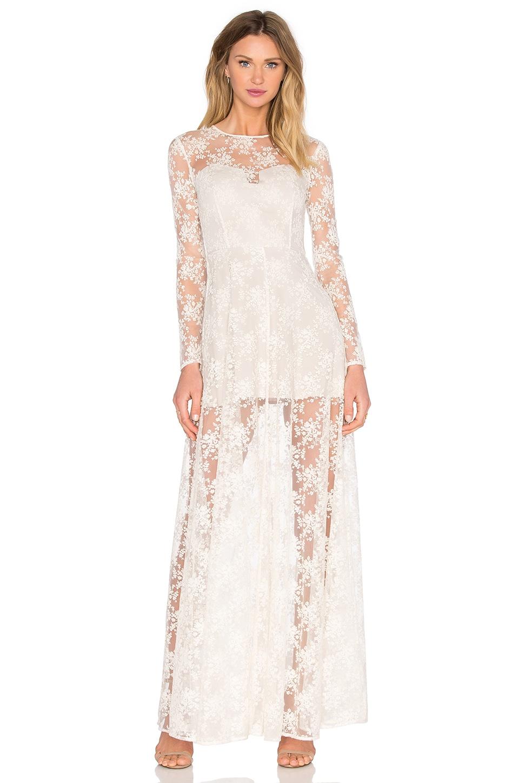 Ella Lace Maxi Dress