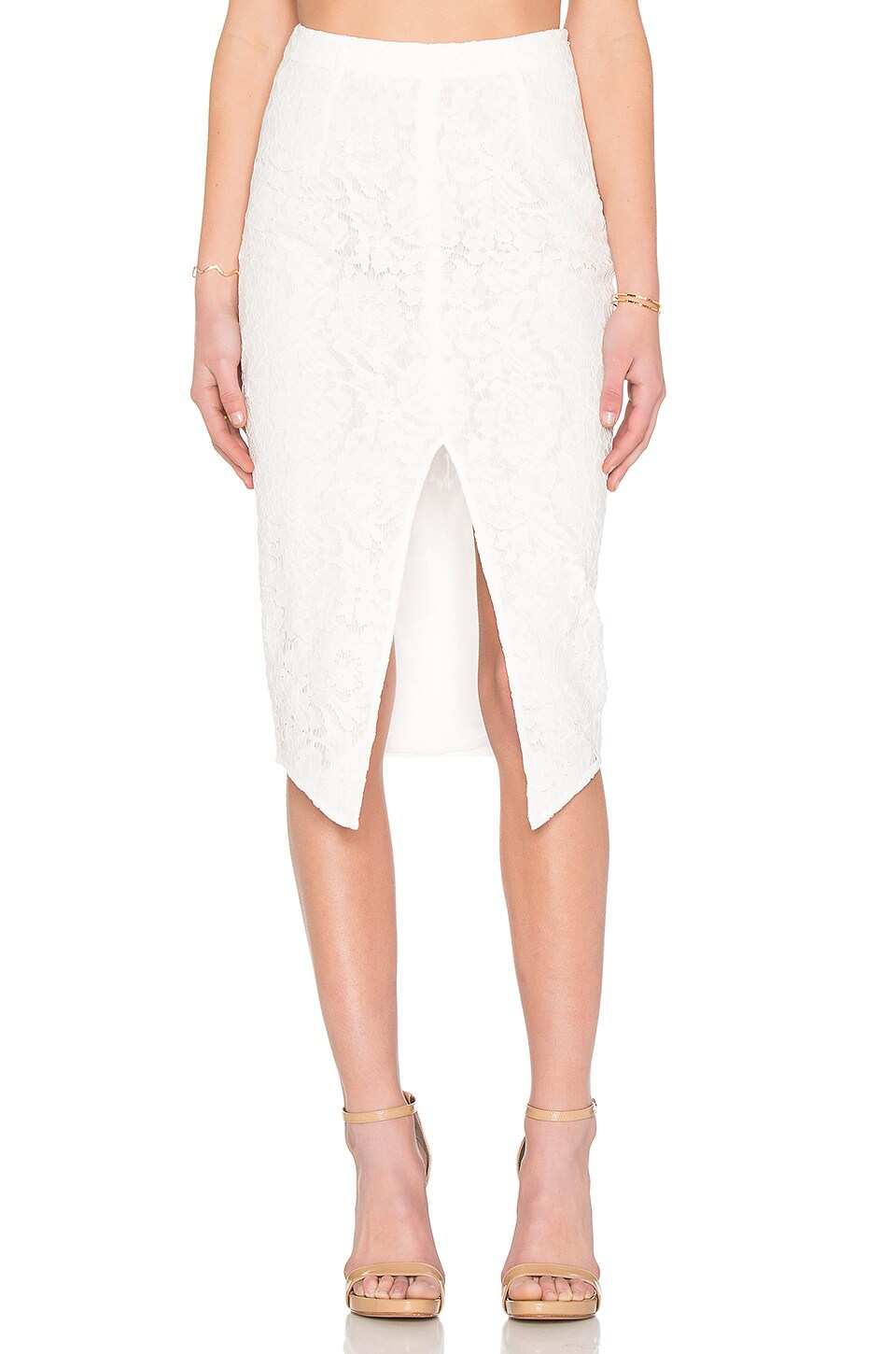 Zoe Lace Pencil Skirt
