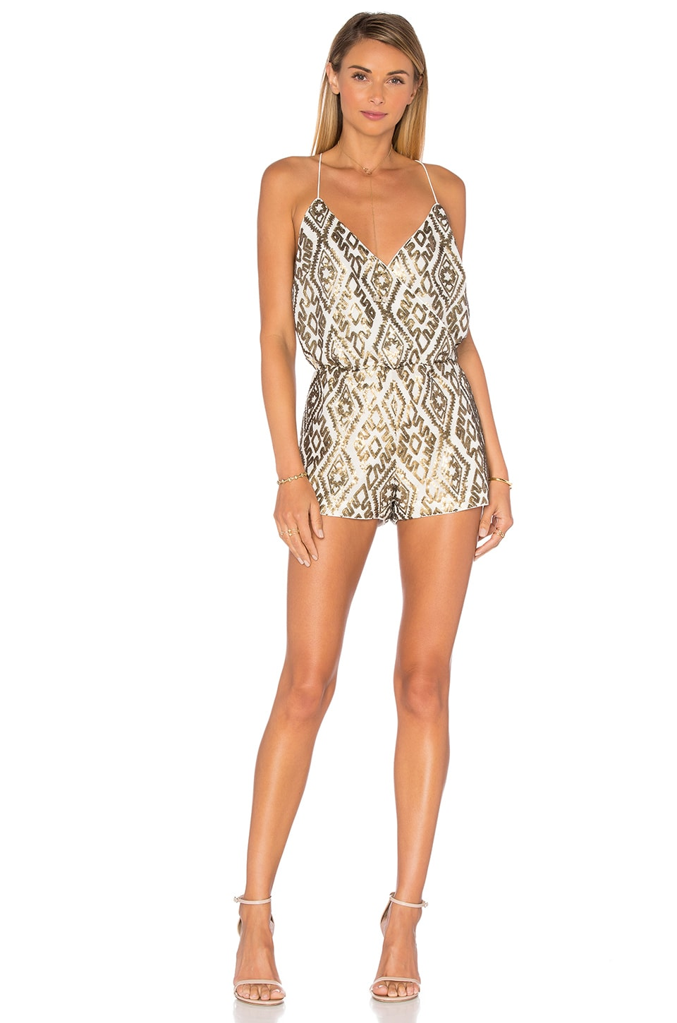 Shellie Embellished Romper