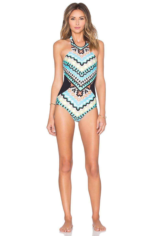 Kasbah High Neck Swimsuit