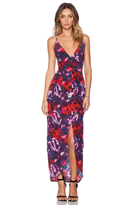 Zip Front Maxi Dress