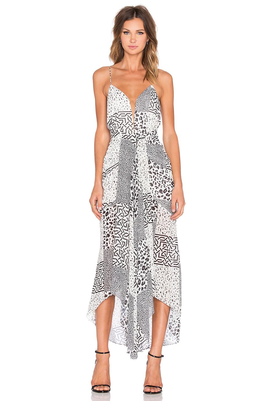 Tribus Waterfall Midi Dress