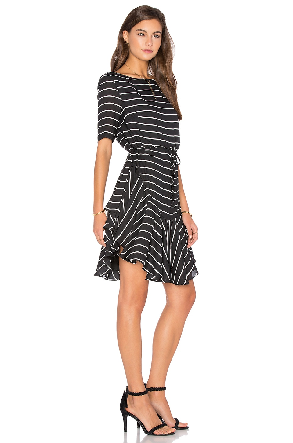 Isabelle Ruffle Shift Dress