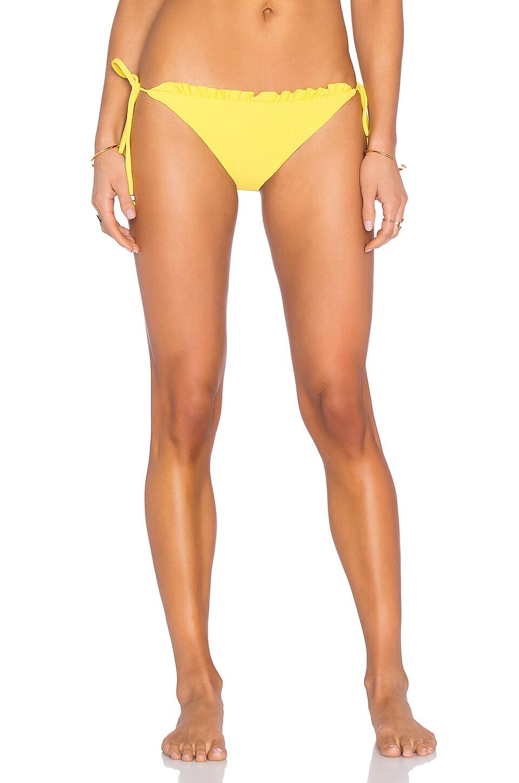 Ruffle String Bikini Bottom