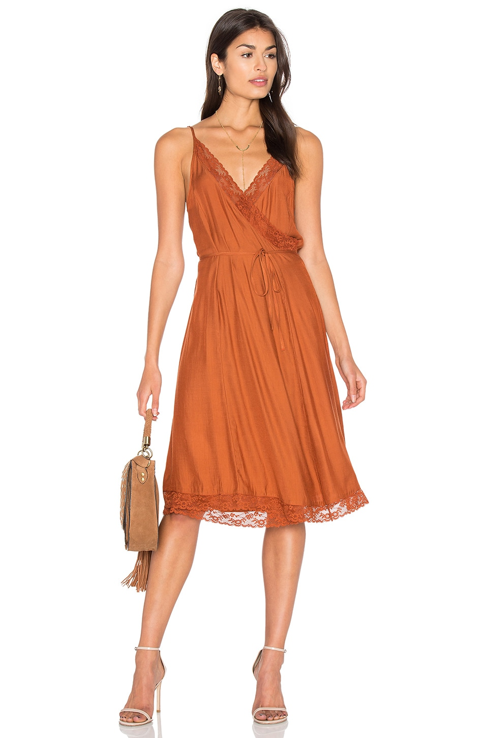 Canyon Wrap Dress