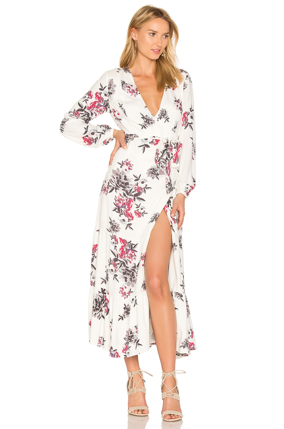 Mary May Midi Wrap Dress
