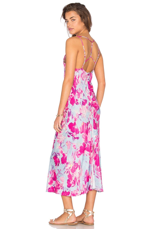Pintura Floral Maxi Dress