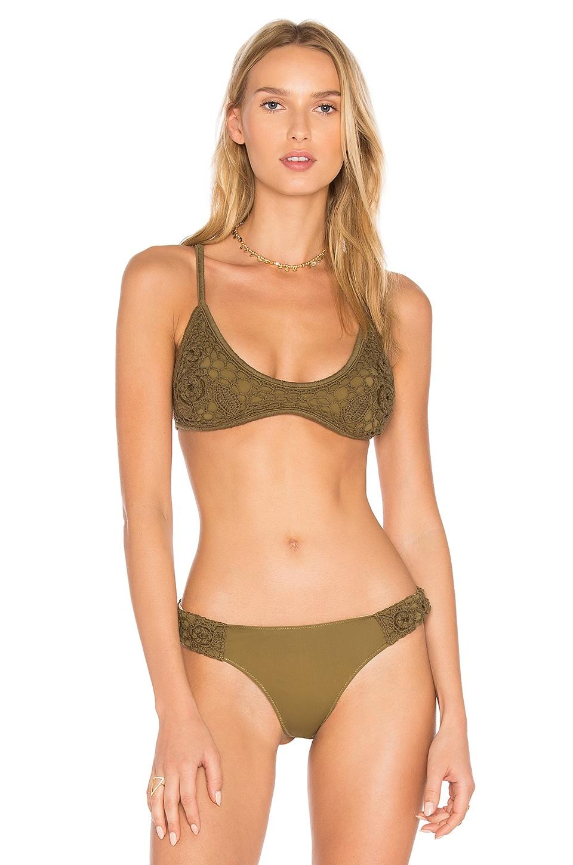 Sun Sway Crochet Bikini Top